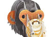 Trophées Animaux / http://mydesign.com/715-trophees-animaux