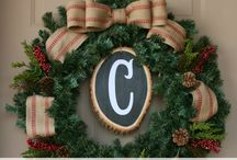 Christmas | Wreaths / Hang a wreath and open the door to a merry holiday.