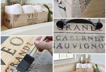 wine box diy