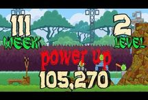 Angry Birds Week 111 all levels power up / Angry Birds Friends Tournament Week All Levels 3 star strategy High Scores no power up and powe up