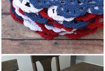 Crochet | 4th of July / 4th of july crochet patterns fourth of july crochet pattern