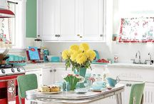 vintage kitchen / by Betsy Kent