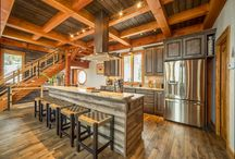 Timber Frame Home Inspiration / Designing a Crested Butte Colorado Home