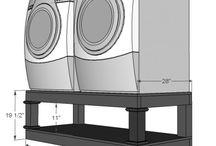 Laundry Rm storage / Laundry base storage