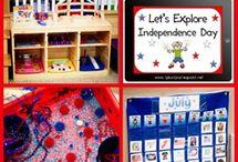 Homeschool Unit: America/July 4th