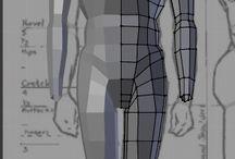 Male body mesh