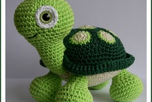 Amigurumi teknősök
