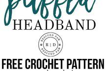 crochet headsbands