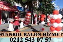 Açılış Balonları /  Açılışlarınızda kullanmak üzere balonları sizlerin hizmetine sunuyoruz ve açılışlarınıza rengarenk bi hava katıyoruz!