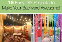 Home Style: Backyard / Awesome ideas for an amazing backyard!