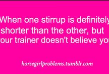 Horse Girl Problems