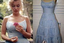 Vestidos ano 60