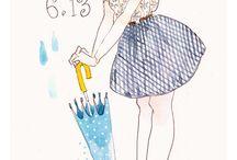 イラスト  ファッション   女の子
