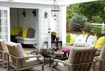 Indoor outdoor spaces