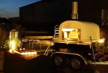 #Wedding Evening Food  - Wood Fired Pizza / Cooked to order in our own custom built, wood-fired pizza ovens this #wedding evening #food option is not only delicious but entirely unique!
