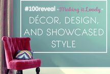 #100reveal / Makeovers with beautiful light from GE reveal® bulbs and a $100 budget at Target / by Nicole Balch