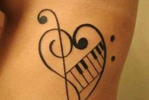 Music inspires you for the best tattoo designs / Amazing #tattoos for #music #lovers!