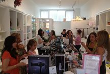 At The Candy Bar / Come on in for a small slice of beauty heaven and find your Candy Bar Style.