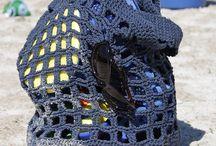 Beach bags crochet