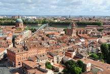 Toulouse, ville rose / Découvrez les sites historiques et monuments de Toulouse, et admirez les trésors d'architecture qu'elle renferme. , par Hôtel Albert 1er Toulouse