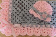Crochet baby girls