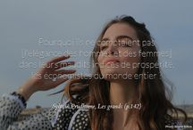 Inspirational quotes / Citations marquantes / A new #quote everyday on #beauty, #happiness, #life, #success...