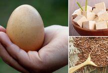 opciones saludables en remplazo del huevo
