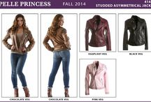 Ladies Pelle Pelle Leather Jackets @ Donna Sacs / We carry the largest selection of Pelle Pelle leathers.