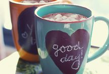 DIY Mug Quotes / Selection of DIY mug quote ideas and how to's.