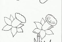Art education - Draw plants+trees / Edited 06 June 2014  / by weildkat art and design.com