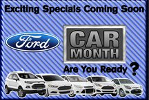 Ford Car Month / Specials on various Ford Models