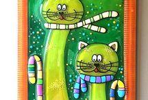 gatti arte ceramica