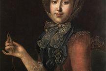 Chiacchierino (tatting, frivolitè) in history.