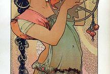 Art Nouveau & Alphonse Mucha
