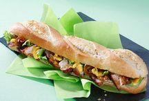 Snacking / Le prêt à manger sain, équilibré et gourmand pour les moments du déjeuner ou de la journée ! Finger food, sandwichs, burgers... Photographies © Promocash