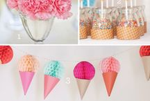 Ice Cream and Candy Theme Party