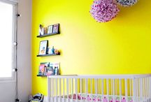 chambre elsa jaune et noire