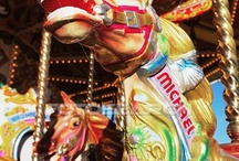 carousels and merry-go-rounds / by Janelle Hagelin