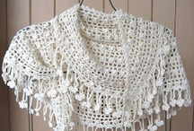 Crochet scarves and stoles / by Mary Lundon