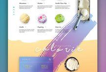 Web Design / Web Design Templates | Website Design | Photoshop Web Designer
