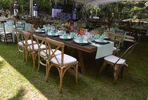 MONTAJE JARDÍN / Montaje de bodas en cuernavaca, montaje en jardín, bodas en día, un momento increíble.