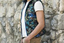 Floral Pattern S/S 2015 40 WEFT / Floral patter on every items, gilet, trousers, fleece for this S/S 2015