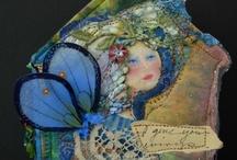 Fabric Art, Quilting Art, Mixed Media