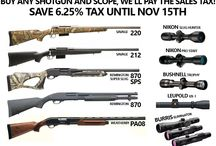 Shotgun/Scope Combo Deal / Current Promotions for guns, ammo and accesories.