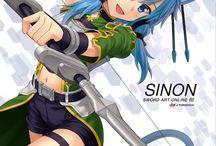 Sinon/Shino Asada SAO/GGO/ALO