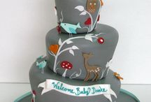 * BABY SHOWER CAKES