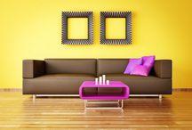 Yellow Summer / Bien dosé, le #jaune ensoleille la #déco !
