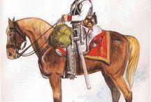 Rakouský kyrysník, napoleonské války