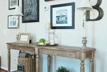 Entry / Console tables for the entrance