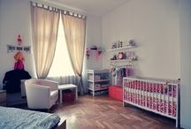 My work - nursery / I have little daughter and I wanted to give her nice place to live in the world :)
